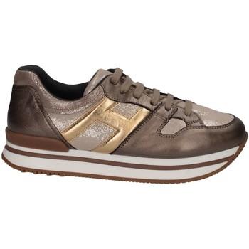 Scarpe Bambina Sneakers basse Hogan Junior HXC2220T540HAQ596K Sneakers Bambina Bronzo Bronzo