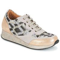 Scarpe Donna Sneakers basse Karston SEMIR Beige / Oro