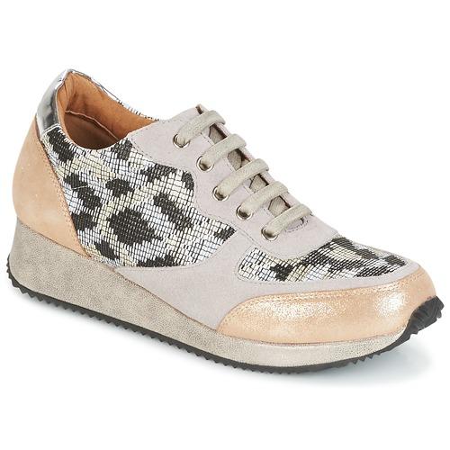 Karston SEMIR Beige / Oro  Scarpe Sneakers basse Donna 79,92