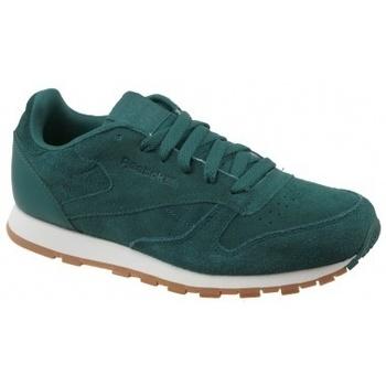 Scarpe Unisex bambino Multisport Reebok Sport CL Leather SG verde