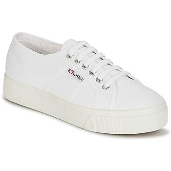Scarpe Donna Sneakers basse Superga 2730 COTU Bianco