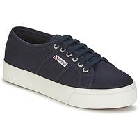 Scarpe Donna Sneakers basse Superga 2730 COTU Marine / Bianco