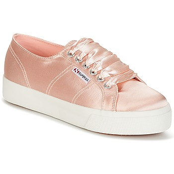 Scarpe Donna Sneakers basse Superga 2730 SATIN W Rosa