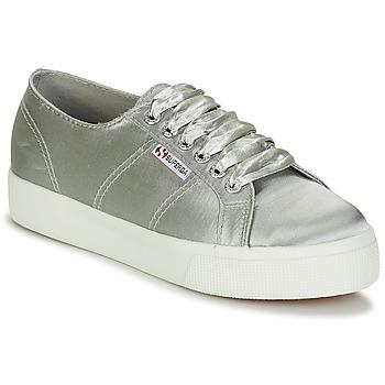 Scarpe Donna Sneakers basse Superga 2730 SATIN W Grigio
