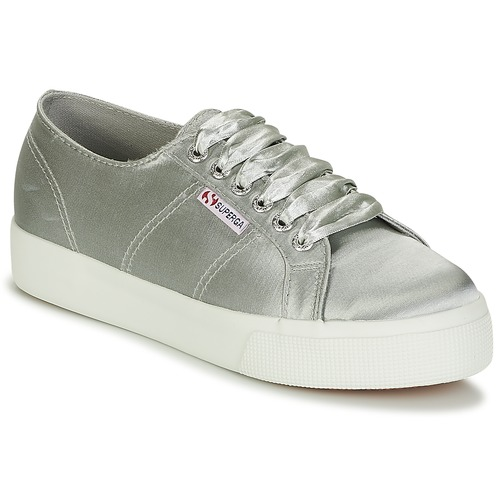 Superga Sneakers basse 2730 SATIN W spartoo-shoes grigio Sportivo