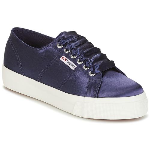 Superga 2730 SATIN W Marine  Scarpe Sneakers basse Donna 53,40
