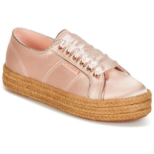Scarpe Donna Sneakers basse Superga 2730 SATIN COTMETROPE W Rosa