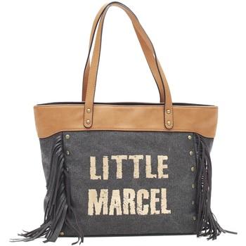 Borse Donna Tote bag / Borsa shopping Little Marcel Sac Shopping Victoire Noir VI 01 Nero
