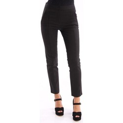 Abbigliamento Donna Chino Tory Burch PANTALONE  NERO IN COTONE STRETCH Black