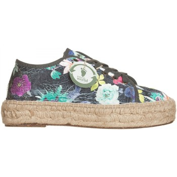 Scarpe Donna Sneakers basse Natural World Campesine Nero