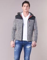 Abbigliamento Uomo Felpe Superdry STORM MOUNTAIN ZIPHOOD Grigio