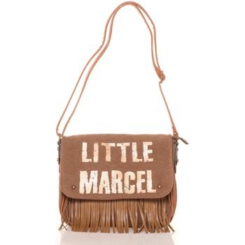 Borse Donna Bisacce Little Marcel Sac a Rabat Victoire Beige VI 04 Beige