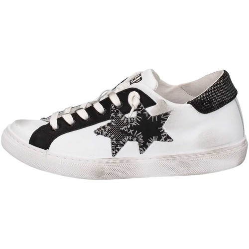 2 Stars 2S1602 Sneakers Donna Bianca Bianca - Scarpe Sneakers basse Donna 95,20
