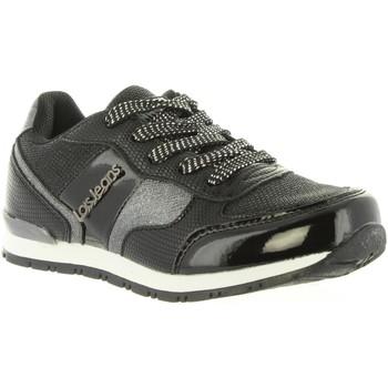 Scarpe Bambina Sneakers basse Lois Jeans 83847 Negro