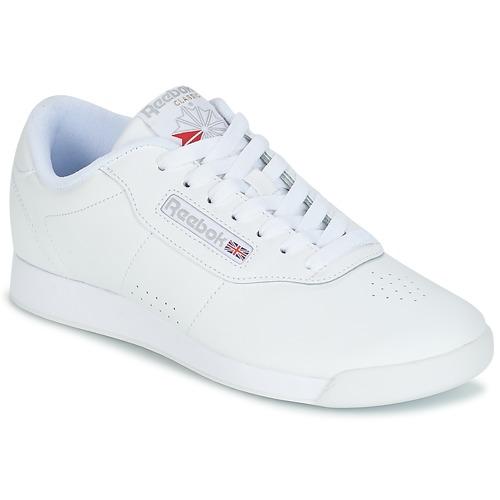 Classic Princess Bianco Basse Reebok Sneakers 0wPknO