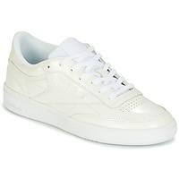 Scarpe Donna Sneakers basse Reebok Classic CLUB C 85 PATENT Bianco