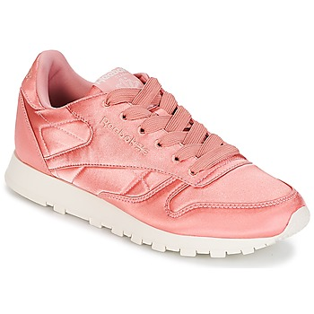 Scarpe Donna Sneakers basse Reebok Classic CLASSIC LEATHER SATIN Rosa