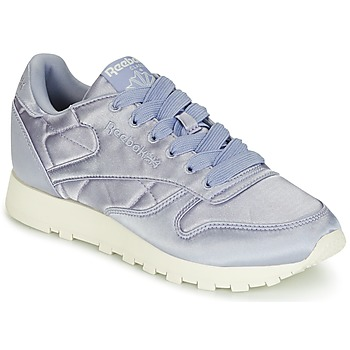 Scarpe Donna Sneakers basse Reebok Classic CLASSIC LEATHER SATIN Viola 80b0abc806c