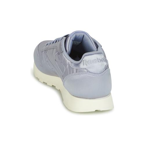 Basse Leather Donna Sneakers Satin Reebok Classic Viola TKlJ1Fc
