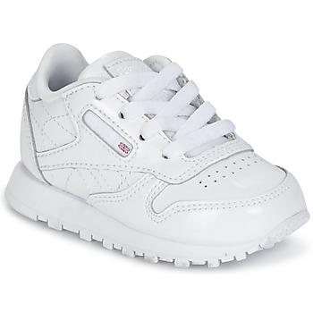 Scarpe Bambina Sneakers basse Reebok Classic CLASSIC LEATHER PATENT Bianco
