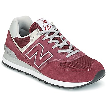 Scarpe Sneakers basse New Balance ML574 Bordeaux