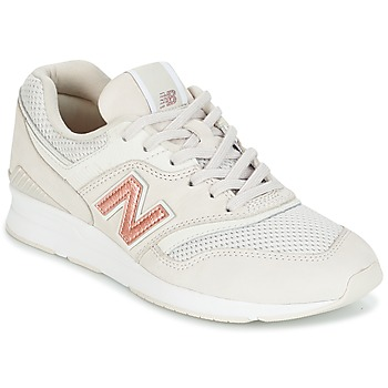 Scarpe Donna Sneakers basse New Balance WL697 Beige