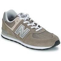 Scarpe Unisex bambino Sneakers basse New Balance 574 Grigio
