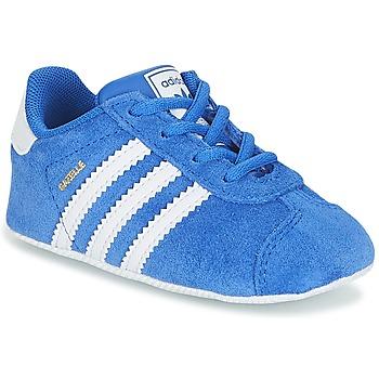 Scarpe Bambino Sneakers basse adidas Originals GAZELLE CRIB Blu
