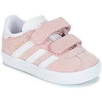 Scarpe Bambina Sneakers basse adidas Originals GAZELLE CF I Rosa