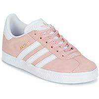 Scarpe Bambina Sneakers basse adidas Originals GAZELLE C Rosa