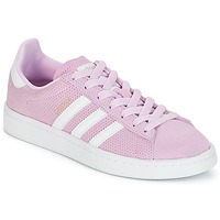 Scarpe Bambina Sneakers basse adidas Originals CAMPUS J Rosa
