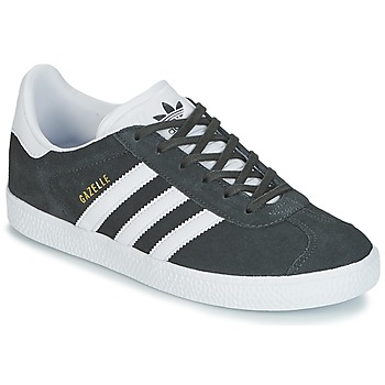 Scarpe Bambino Sneakers basse adidas Originals GAZELLE J Grigio