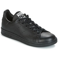 Scarpe Bambino Sneakers basse adidas Originals STAN SMITH J Nero
