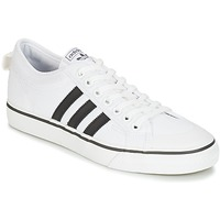 Scarpe Sneakers basse adidas Originals NIZZA Bianco