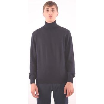 Abbigliamento Uomo Maglioni M.marte MAGLIONE IN LANA BLU Blue