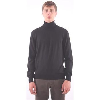 Abbigliamento Uomo Maglioni M.marte MAGLIONE IN LANA NERA Black