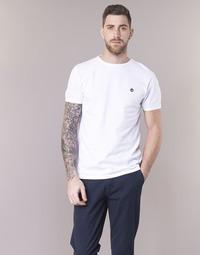 Abbigliamento Uomo T-shirt maniche corte Timberland SS DUNSTAN RIVER CREW TEE Bianco
