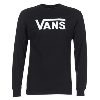 Abbigliamento Uomo T-shirts a maniche lunghe Vans VANS CLASSIC Nero