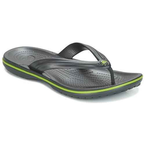 Crocs CROCBAND FLIP Nero / Verde  Scarpe Infradito  22,50
