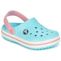 Scarpe Unisex bambino Zoccoli Crocs Crocband Clog Kids Blu / Rosa