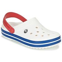 Scarpe Zoccoli Crocs CROCBAND Bianco / Blu / Rosso