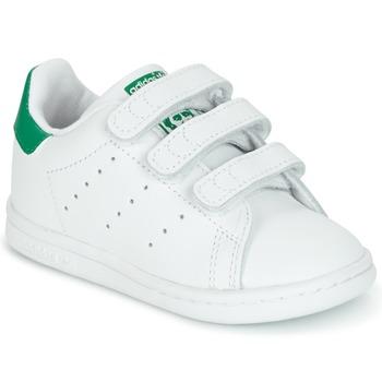 Scarpe Unisex bambino Sneakers basse adidas Originals STAN SMITH CF I Bianco / Verde