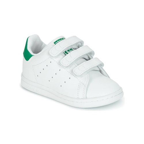 sports shoes 6582d c0d1f Scarpe Unisex bambino Sneakers basse adidas Originals STAN SMITH CF I Bianco    Verde