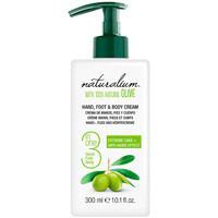 Bellezza Trattamento mani e piedi Naturalium Oliva 100% Hand, Foot & Body Cream  300 ml