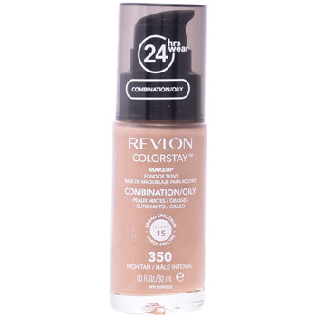 Bellezza Donna Fondotinta & primer Revlon Colorstay Foundation Combination/oily Skin 350-rich Tan 30 ml