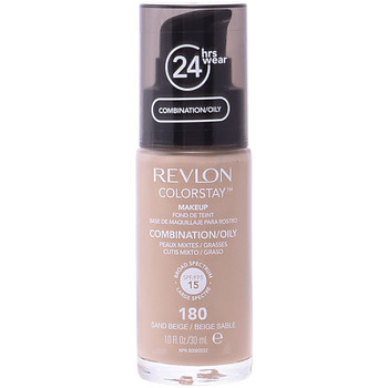 Bellezza Donna Fondotinta & primer Revlon Colorstay Foundation Combination/oily 180-sand Beige 30 ml