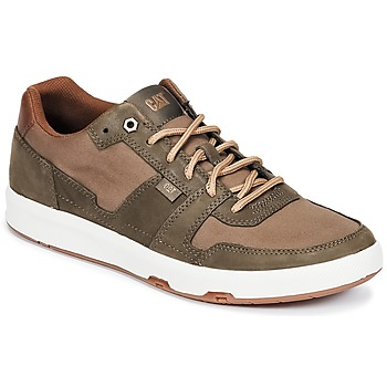 Scarpe Uomo Sneakers basse Caterpillar LINE UP CANVAS Marrone