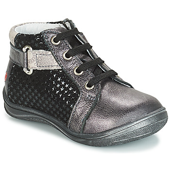 Scarpe Bambina Sneakers alte GBB RICHARDINE Nero / Grigio