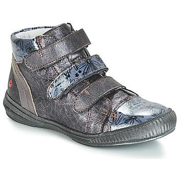 Scarpe Bambina Sneakers alte GBB RAFAELE Argento