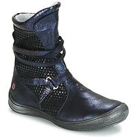 Scarpe Bambina Stivali GBB ROSANA Blu / Nero